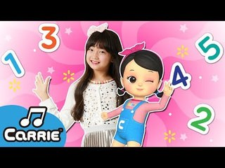 [댄스] 하나! 둘! 셋! 숫자송 One! Two! Three! Numbers Song | 캐리앤 송