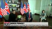 Trump promised to end Korean War to North Korean leader Kim Jong-un: Vox