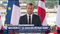 """La phrase de Macron sur les """"Gaulois réfractaires"""" fait polémique"""
