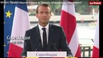 """Emmanuel Macron : les Français, des """"Gaulois réfractaires au changement"""""""