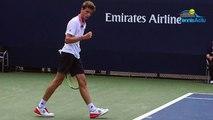 """US Open 2018 - Ugo Humbert battu par Wawrinka : """"Je sais où j'en suis contre les Top Joueurs"""""""