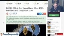 My Top Coin for September 2018 - Ethereum Gets Dissed By Arthur Hayes