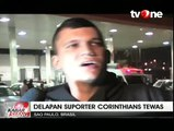 8 Suporter Corinthians Tewas Diberondong Peluru