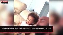Kaaris en prison, il essaye d'expliquer la situation à sa fille de 2 ans (Vidéo)