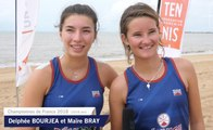 Beach Tennis : Delphée et Maïre conservent leur trophée