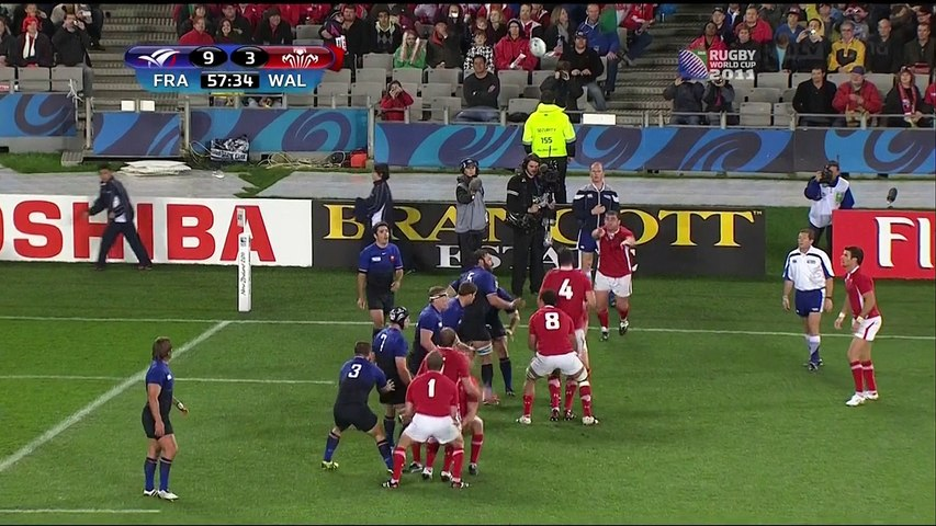 Rugby World Cup 2011 Semi-Final - France vs Wales - 2nd Half