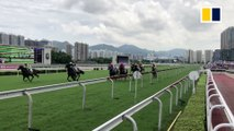 Hong Kong horse racing is back