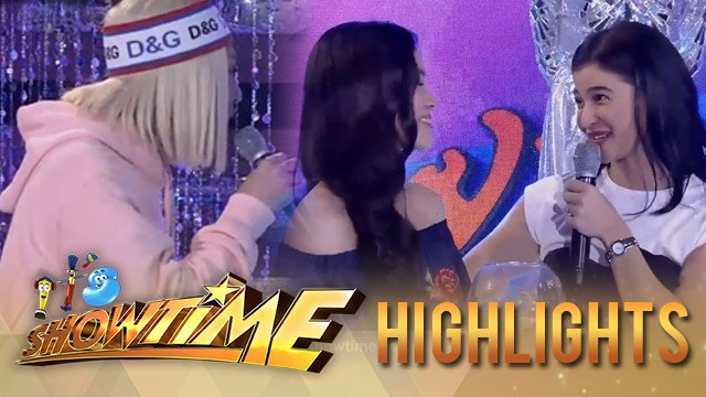 It's Showtime Miss Q & A: Vice Ganda accuses Anne and Ate Girl as traitors