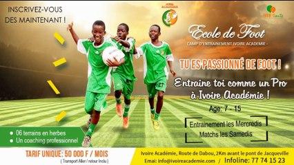 PRESENTATION ECOLE DE FOOT IVOIRE ACADEMIE