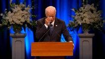 Joe Biden Delivers Passionate Eulogy At John McCain's Memorial