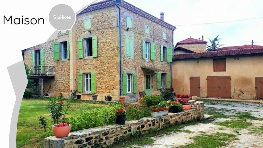 A vendre - Maison/villa - St barthelemy de vals (26240) - 5 pièces - 200m²
