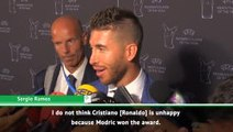 Ronaldo wouldn't miss draw because Modric won award - Ramos
