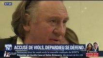"""Depardieu est """"abasourdi"""" par les accusations selon son avocat"""