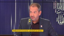 """Prélèvement à la source : """"Nous lui demandons [à Emmanuel Macron] de renoncer"""", déclare Pascal Pavageau, secrétaire général de Force Ouvrière"""