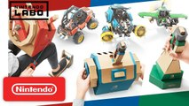 Nintendo Labo - Aperçu Toy-Con 03 : Vehicle Kit