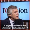 «Nicolas Hulot était un militant écologique sincère», estime Jordan Bardella