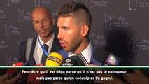 Joueur UEFA de l'année - Ramos : Peut-être que Ronaldo est déçu