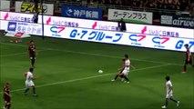 ワールドクラスのパス&ゴール、イニエスタ選手のタッチ集  神戸x広島 前半戦のプレー