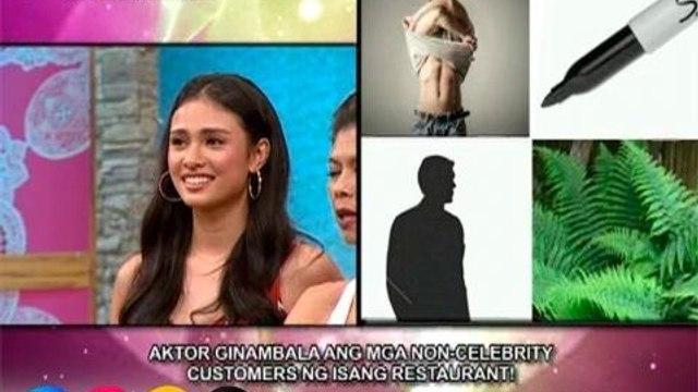 Mars: Aktor, ginambala ang mga non-celebrity customers ng isang restaurant!