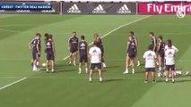 Les premières images à l'entraînement du Real Madrid de Mariano !