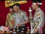 Polisi Tutup Paksa Pabrik Saus Ilegal di Semarang