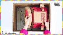 Nintendo Labo (Toy-Con 03 Kit Véhicules) - Carton de rangement (Japon)