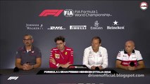 F1 2018 Italian GP - Friday (Team Principals) Press Conference