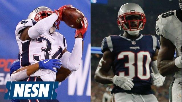J.C. Jackson, Jason McCourty battle for roster spots in final Patriots preseason game