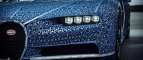 Une Bugatti Chiron taille réelle en Lego