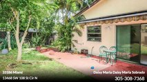 Single Family For Sale: 13468 SW 108 St Cir N Miami,  $284000