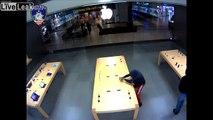 Ils arrachent 30000€ d'iPhone et Mac dans un Apple store !