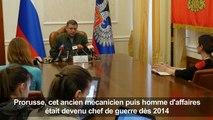 ARCHIVES/Ukraine : mort du principal chef séparatiste pro-russe