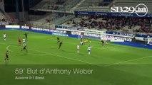 AJA 0-2 SB29 | Les 2 buts brestois