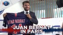 Première interview de Juan Bernat