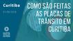 Fábrica de placas de trânsito em Curitiba