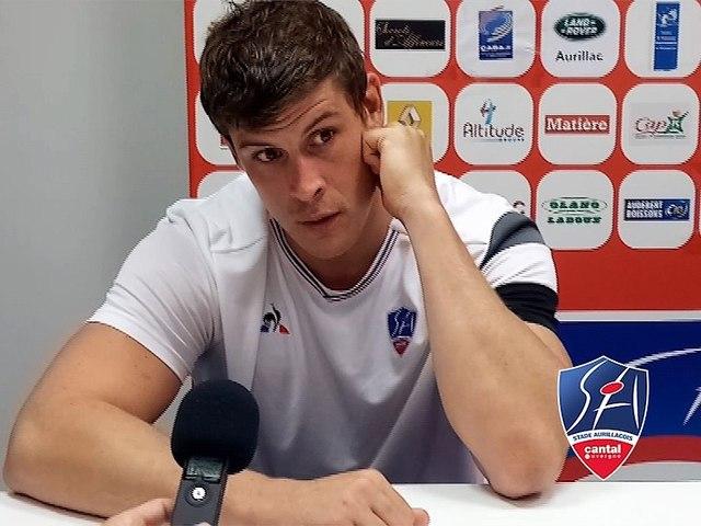 Réactions après-match J3 Stade Aurillacois/Carcassonne Saison 2018-2019