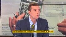 """Emmanuel Macron """"doit renoncer"""" au prélèvement à la source"""