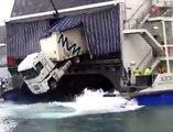 Quand un camion a le mal de mer ça donne ça...