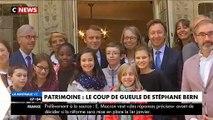 """Nommé """"Monsieur Patrimoine """" par Emmanuel Macron, l'animateur Stéphane Bern menace de claquer la porte"""