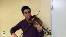 Artista Callejero: Sebastian Mariman violinista desde Santiago de Chile #EnVivo