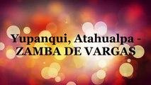 Zamba de Vargas tabs Atahualpa Yupanqui guitar tabs tutorial