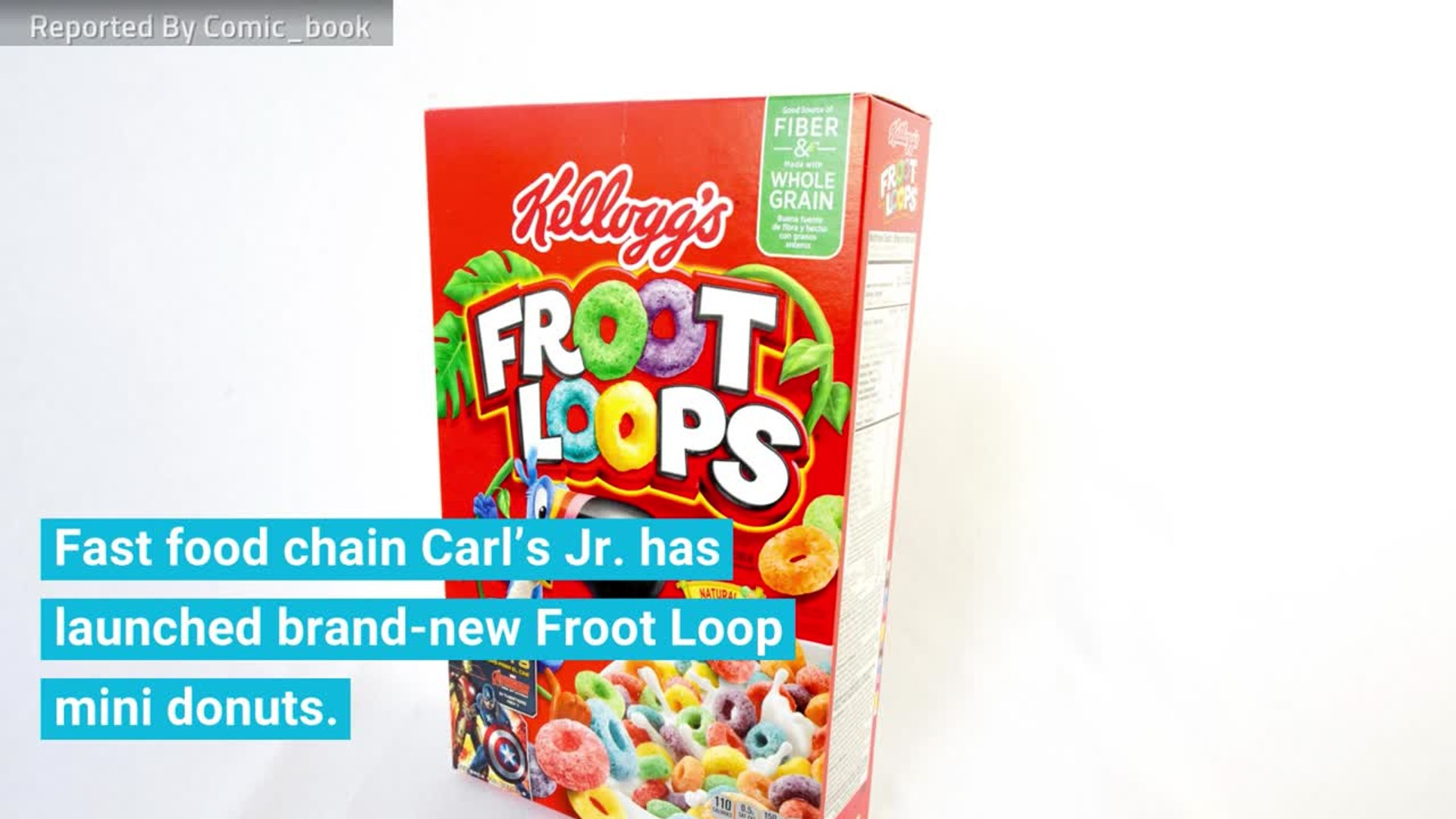 Carls Jr Introduces Froot Loops Mini Donuts