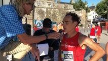 L'arrivée du semi-marathon Cancale Saint-Malo