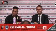 Stade Rennais F.C. : Conférence de presse_02 Septembre 2018