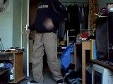 "BBoy Stepz - Training ""poppin ' n Boogaloo"""