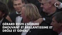 """Sandrine Kiberlain défend son """"ami"""" Gérard Depardieu, accusé de """"viols et d'agressions sexuelles"""""""