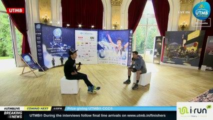UTMB® 2018 Interview (EN/FR)  -  Xavier THEVENARD