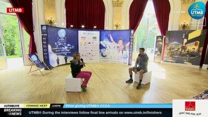 UTMB® 2018 Interview (EN/FR)  -  FRANCESCA CANEPA