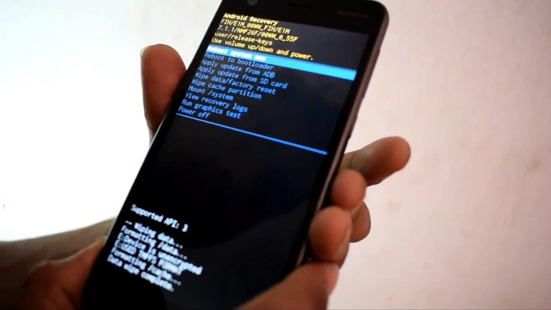 Nokia 2 hard reset and Nokia 2 pattern unlock