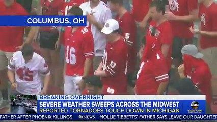 75c2c9d45b Etats-Unis  Regardez les images effrayantes de cette tornade qui a touché  le Michigan